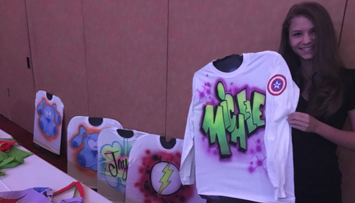 airbrushed tshirts